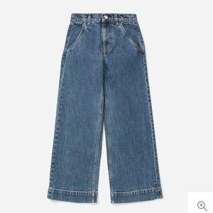 Everlane Wide Leg Jeans in Medium Indigo